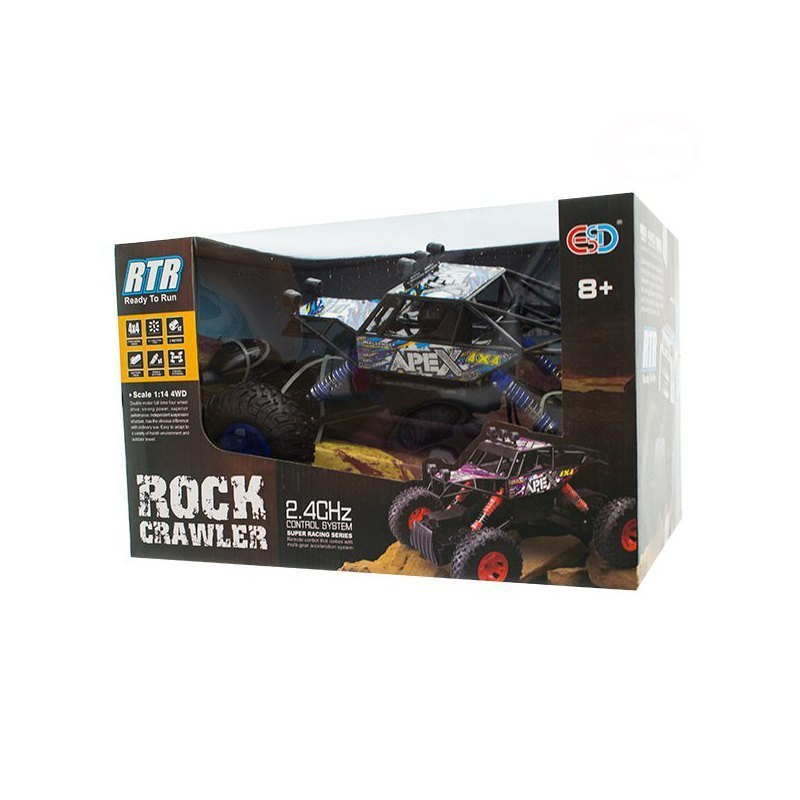 Monster Track ROCK CRAWLER Black